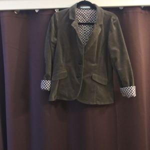 Maurice Olive corduroy jacket